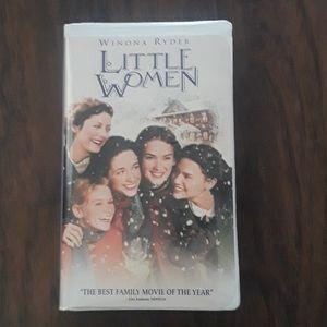 Winona Ryder Little Women VHS tape